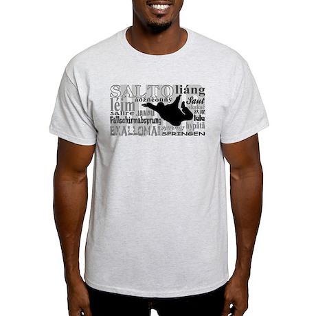 Jump (Grey Text) Light T-Shirt