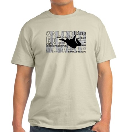 Jump (Grey Text) Light T-Shirt