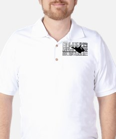 Jump (Grey Text) Golf Shirt