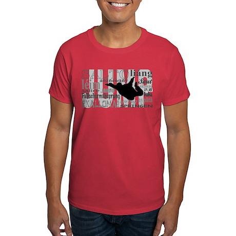 Jump (Grey Text) Dark T-Shirt