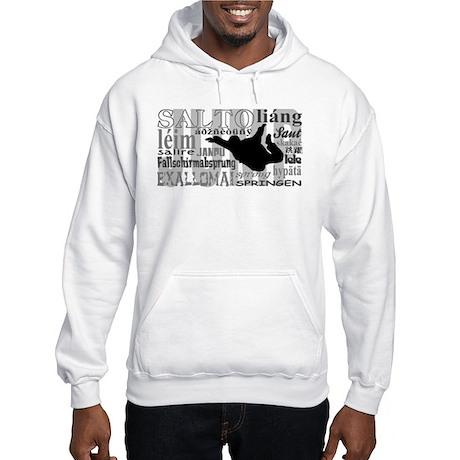 Jump (Grey Text) Hooded Sweatshirt