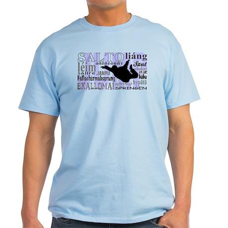 Jump (Blue Text) Light T-Shirt