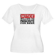 Will Parachute for Beer T-Shirt