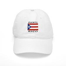 Puerto Rican Flag Baseball Cap