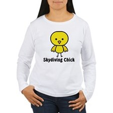 Skydiving Chick T-Shirt