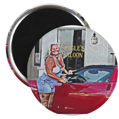 "Seagle's Saloon 2.25"" Magnet (10 pack)"