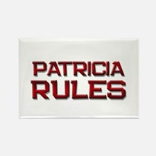 patricia rules Rectangle Magnet