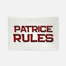 patrice rules Rectangle Magnet