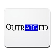 OutrAIGed Mousepad