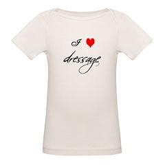 i love (heart) dressage Tee