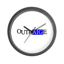 OutrAIGe Wall Clock