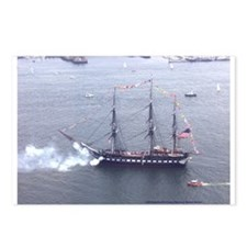 Old Ironsides Salutes Boston Postcards (Package of