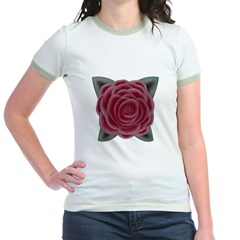 Large Red Rose Tee T