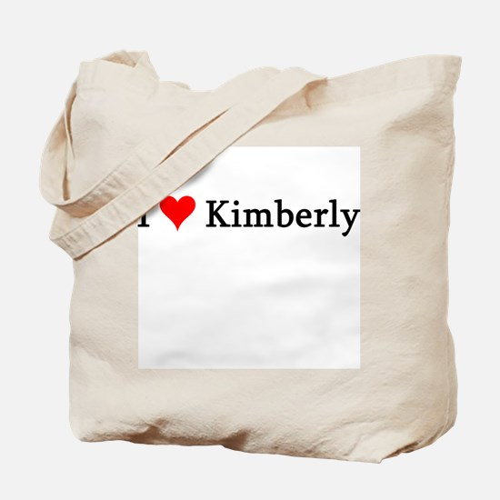 I Love Kimberly Tote Bag
