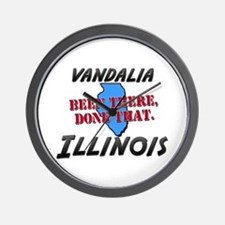 vandalia illinois - been there, done that Wall Clo