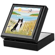 Rowboat / (B&W) Cat Keepsake Box