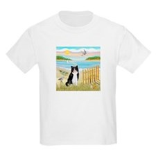 Rowboat / (B&W) Cat T-Shirt