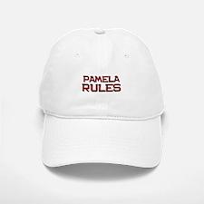 pamela rules Baseball Baseball Cap