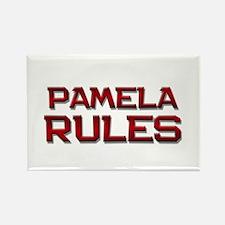 pamela rules Rectangle Magnet