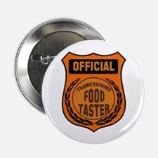 """Thanksgiving Food Taster 2.25"""" Button (100 pack)"""