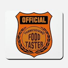 Thanksgiving Food Taster Mousepad