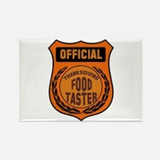 Thanksgiving Food Taster Rectangle Magnet (100 pac