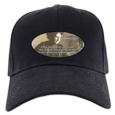Maria Montessori Education Baseball Hat