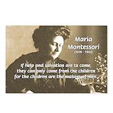 Montessori Postcards