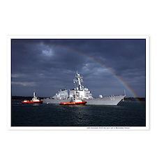 USS Gonzalez Postcards (Package of 8)
