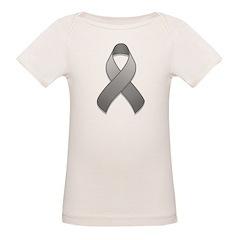Gray Awareness Ribbon Tee
