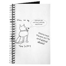 Gloria the dog... Journal