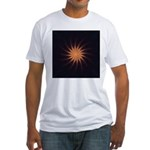 Sunset I Fitted T-Shirt