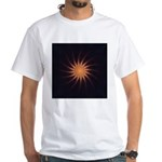 Sunset I White T-Shirt