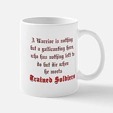 Warrior vs. Soldier Mug