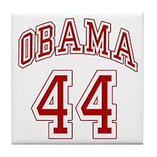 Barack Obama 44th President Tile Coaster