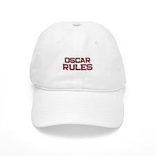 oscar rules Baseball Cap