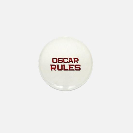 oscar rules Mini Button