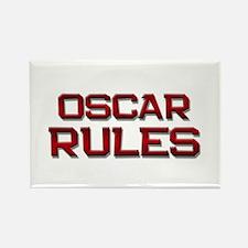 oscar rules Rectangle Magnet