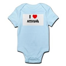 I LOVE AMIYAH Infant Creeper