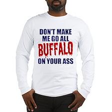 Buffalo Football Long Sleeve T-Shirt
