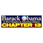 Chapter 13 Bumper Sticker (50 pk)