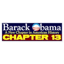 Chapter 13 Bumper Bumper Sticker