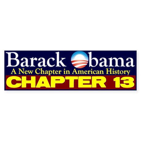 Chapter 13 Bumper Sticker