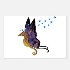 Flying seahorse Postcards (Package of 8)