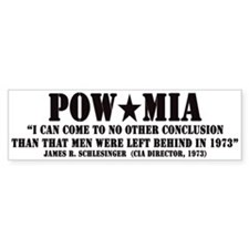 POW/MIA Bumper Bumper Bumper Sticker