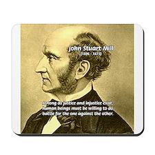 Utilitarianism John Mill Mousepad