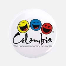"""Colombia 3.5"""" Button"""