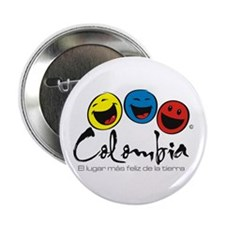 "Colombia 2.25"" Button"