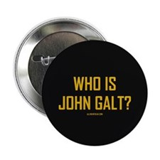 "Who Is John Galt? 2.25"" Button"
