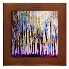 'Dandelion Haze' Framed Tile